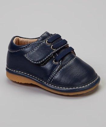 Laniecakes Navy Laces Squeaker Shoe