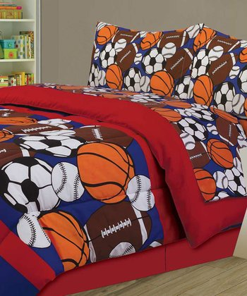 Sporty Bedding Set