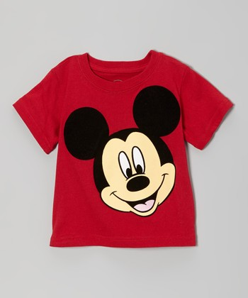 Red Mickey Tee - Infant & Toddler