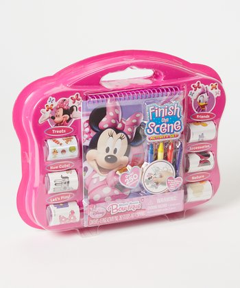 Minnie Mouse Finish-the-Scene Activity Set