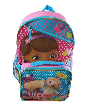 Doc McStuffins Backpack & Lunch Tote