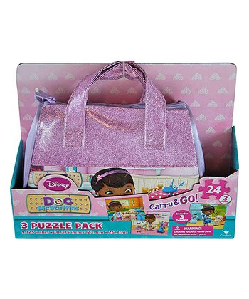 Doc McStuffins Purse & Puzzle Set
