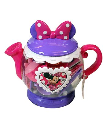 Minnie's Bow-Tique Teapot Set