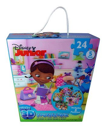 Disney Junior 3-D Puzzle Pack