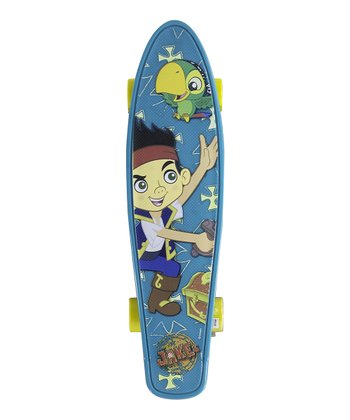Disney Jake & The Pirates Kids Torpedo 21'' Skateboard