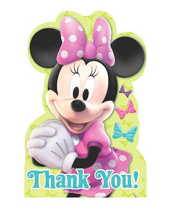 Minnie Thank You Note - Set of Eight