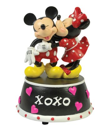Mickey & Minnie 'XOXO' Figurine