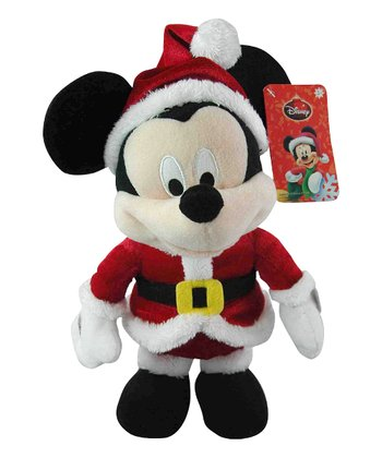 Dancing Mickey Holiday Plush Toy
