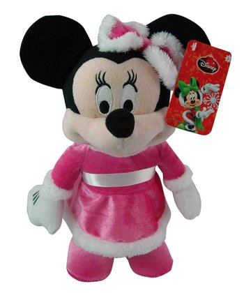 Dancing Minnie Holiday Plush Toy