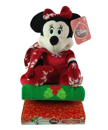 Disney Minnie Sleddin' Plush Toy