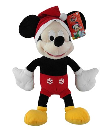 Mickey Holiday Plush Toy