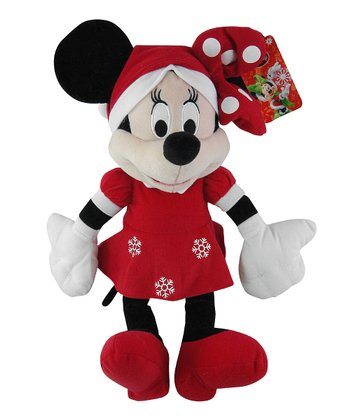 Minnie Holiday Plush Toy