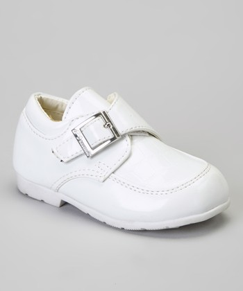 White Crocodile Dress Shoe