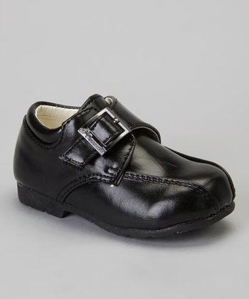 Black Smooth Dress Shoe