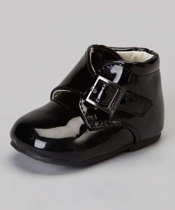 Black Stitched Dress Shoe