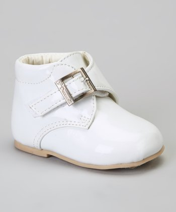 White Buckle Dress Shoe