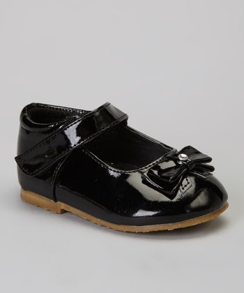 Black Bow Patent Mary Jane