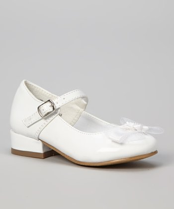 White Patent Lota Mary Jane - Girls