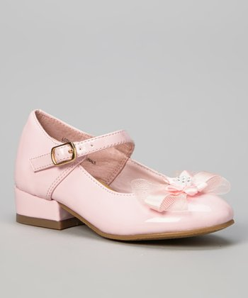 Pink Patent Lota Mary Jane - Girls