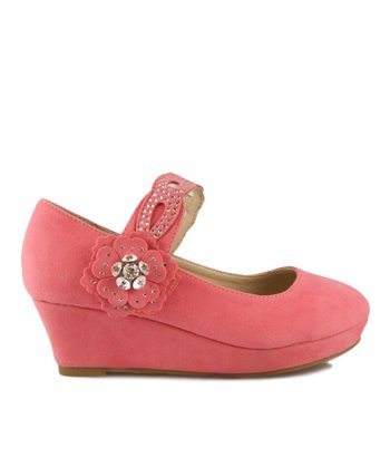 Coral Erika Wedge Mary Jane
