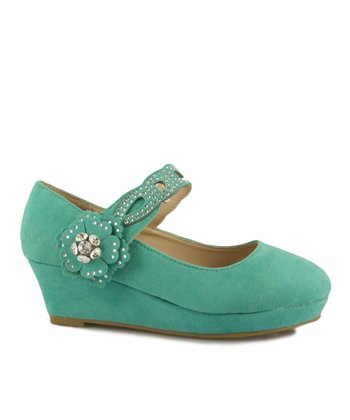 Mint Erika Wedge Mary Jane