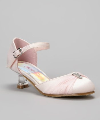 Pink Tira Ankle Strap Shoe - Girls