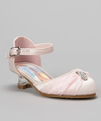 Pink Misu 101 Ankle Strap Shoe - Girls