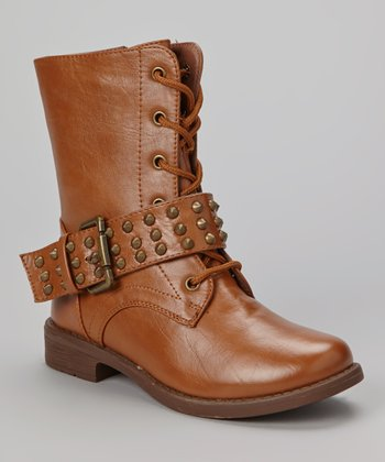 Tan Low Andrea Boot