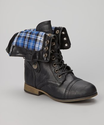 Black Legend Fold-Over Boot