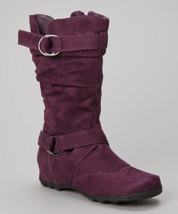 Purple Valley Boot