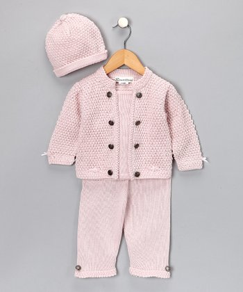 Light Pink Alpaca Sean Pants Set - Infant & Toddler