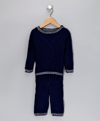 Navy Milo Pants Set - Infant