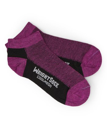 Black & Berry Coolmesh Low-Cut Socks - Unisex