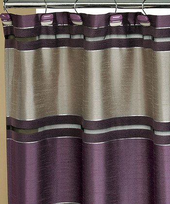 Purple Chantelle Shower Curtain