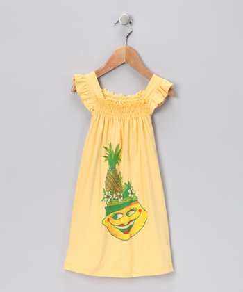 Yellow Lemon Miranda Dress - Infant