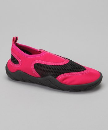 Black & Pink Water Shoe