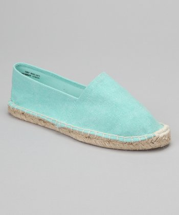 Light Green Espadrille
