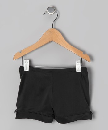 Black Bow Shorts - Toddler