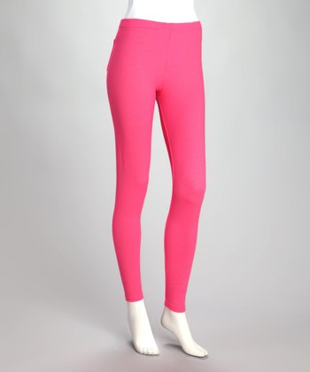 Bright Pink Jeggings