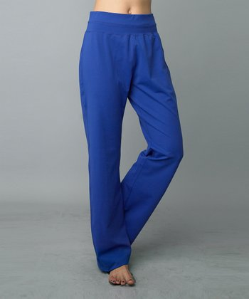Neon Blue Lounge Pants