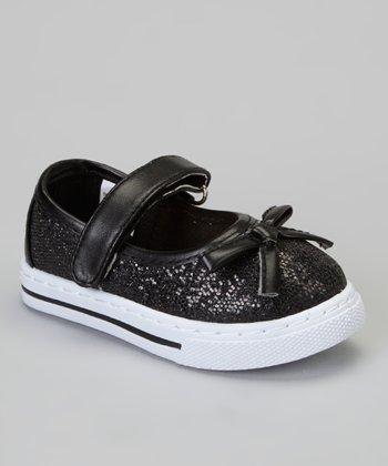 Black Glitter Kelli Sneaker