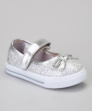 Silver Glitter Kelli Sneaker