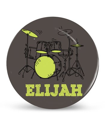 Drum Beat Personalized Plate