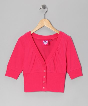 Coral Crush Cardigan