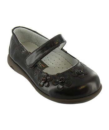 Black Burnished Vivica Mary Jane
