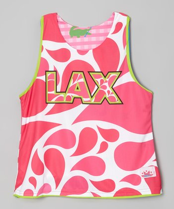 Pink Paisley Alligator Reversible Tank - Girls & Women