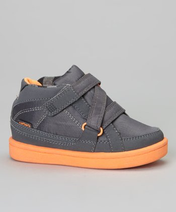 Gray & Orange Maxim Sneaker