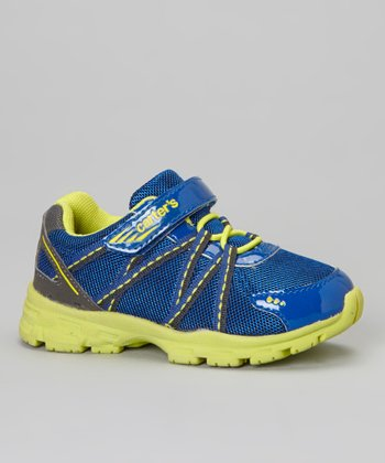 Blue & Yellow Rush Sneaker