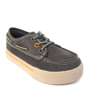 Brown & Cream Richie Boat Shoe