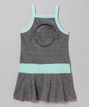 Heather Gray 'Pink Floyd' Dress - Infant & Girls